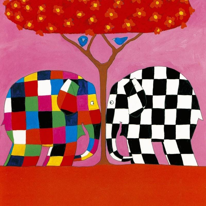 Half Term – Elmer the Elephant