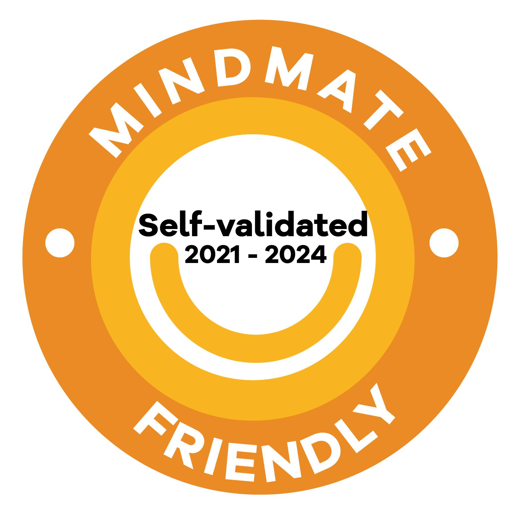 Mindmate friendly self validated 2021-2024 orange
